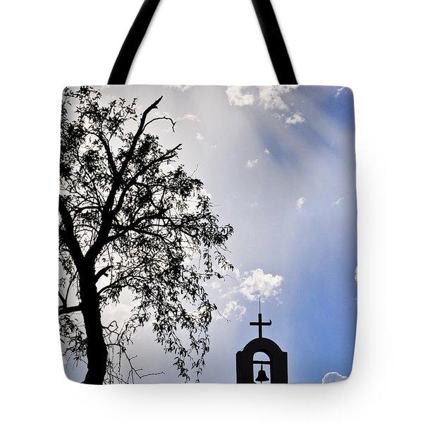 Mission Tote Bag by Skip Hunt
