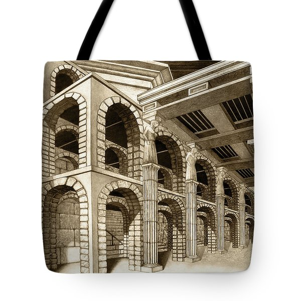 Mithlond Gray Havens Tote Bag by Curtiss Shaffer