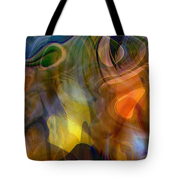 Mixed Emotions Tote Bag by Linda Sannuti