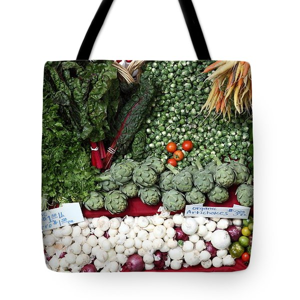 Mixed Vegetables - 5D17086 Tote Bag by Wingsdomain Art and Photography