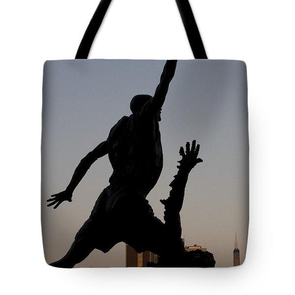 MJ Tote Bag by Andrei Shliakhau