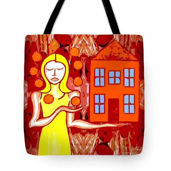 Modern Woman Tote Bag by Patrick J Murphy