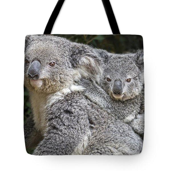 Mommy Hugs Tote Bag by Jamie Pham
