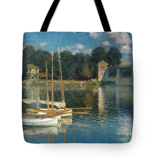 Monet: Argenteuil Tote Bag by Granger