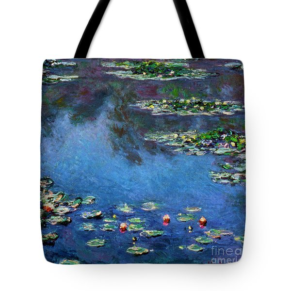 Monet: Waterlilies, 1906 Tote Bag by Granger