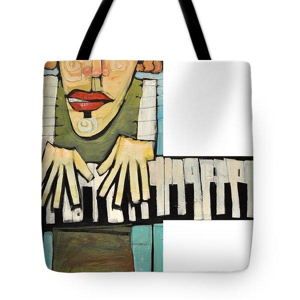 Monsieur Keys Tote Bag by Tim Nyberg