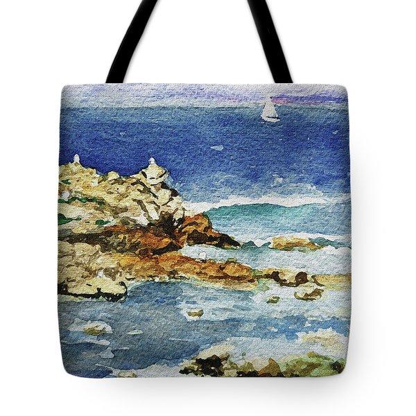 Monterey Tote Bag by Irina Sztukowski