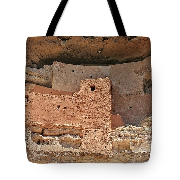Montezuma Castle - Special in it's own way Tote Bag by Christine Till