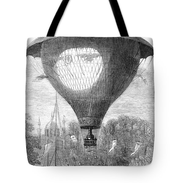 Montgolfier Balloon, 1864 Tote Bag by Granger