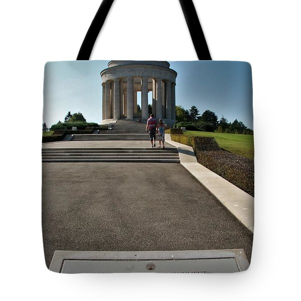 Tote Bag featuring the photograph Montsec American Monument by Travel Pics