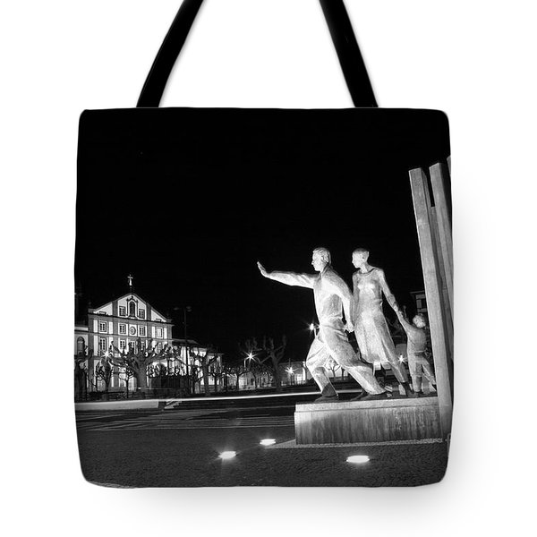 Monument To The Emigrant Tote Bag by Gaspar Avila