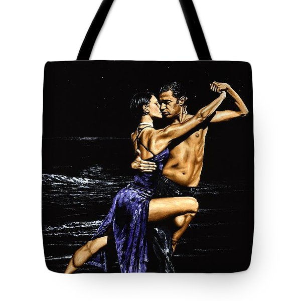 Moonlight Tango Tote Bag by Richard Young