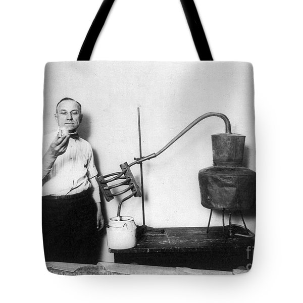 Moonshine Distillery, 1920s Tote Bag by Granger