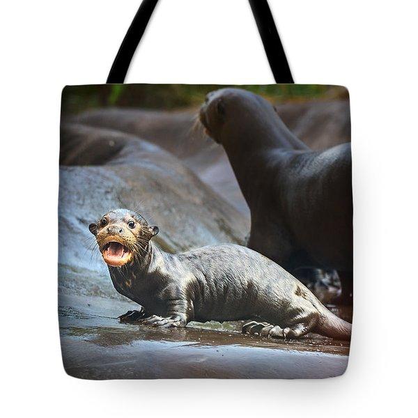Moooommmmy Tote Bag by Jamie Pham
