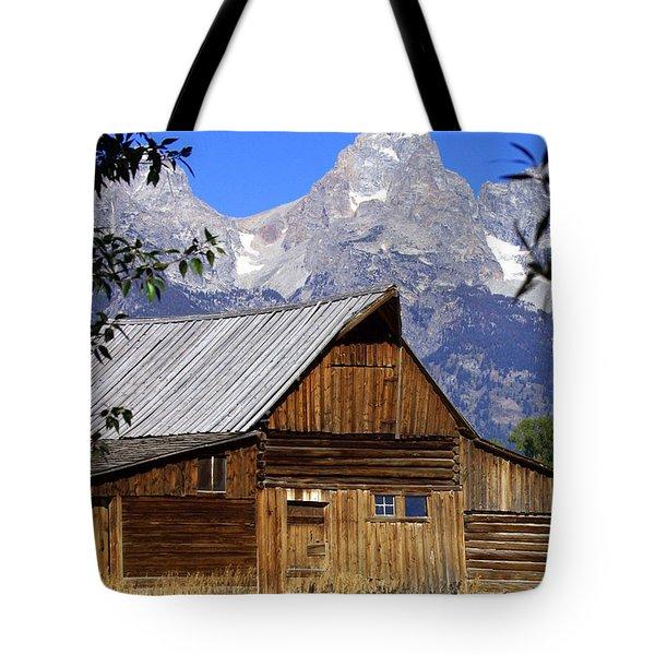 Mormon Row Barn  1 Tote Bag by Marty Koch