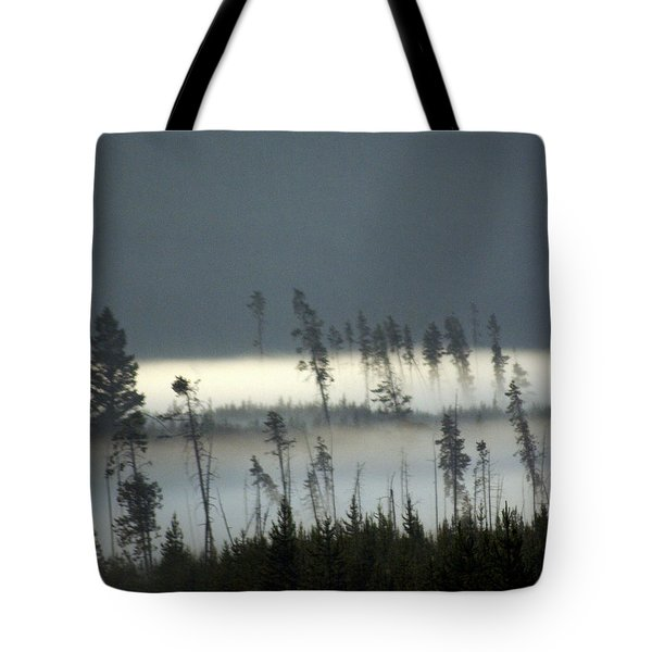 Morning Along The Madison Tote Bag by Marty Koch