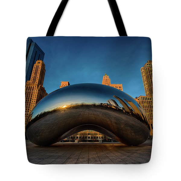 Morning Bean Tote Bag by Sebastian Musial