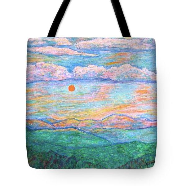 Morning Color Dance Tote Bag by Kendall Kessler