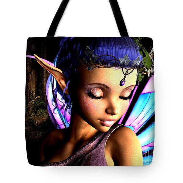 Morning Fairy  Tote Bag by Alexander Butler
