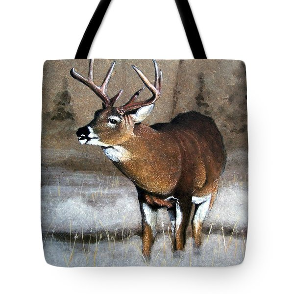 Morning Fog Tote Bag by Stan White