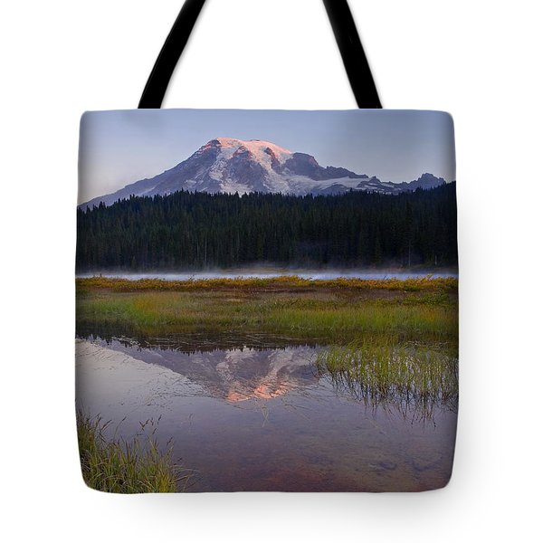 Morning Glow Tote Bag by Mike  Dawson