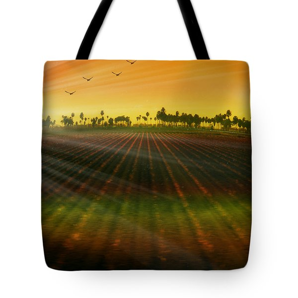 Morning Has Broken Tote Bag by Holly Kempe