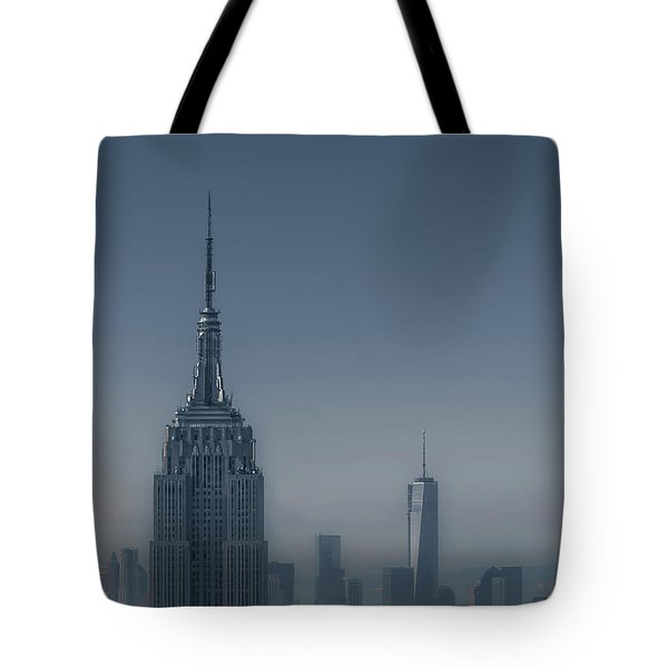 Morning In New York Tote Bag by Chris Fletcher