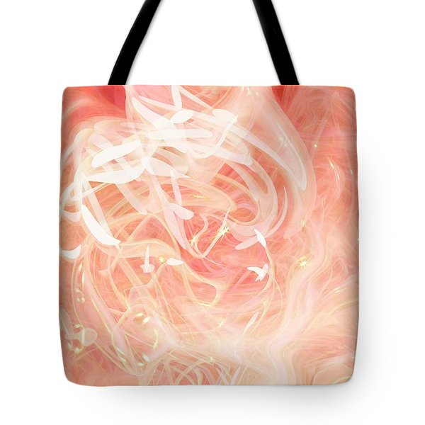 Morning Star Tote Bag by Linda Sannuti