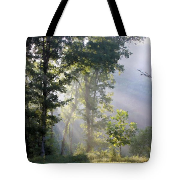 Morning Sun Tote Bag by Kristin Elmquist