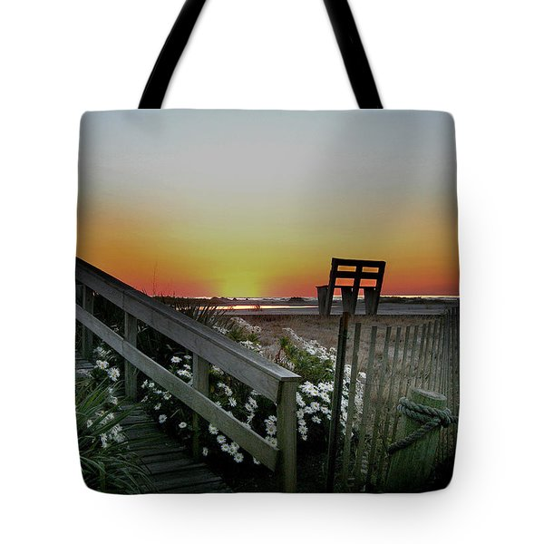 Morning View  Tote Bag by Skip Willits
