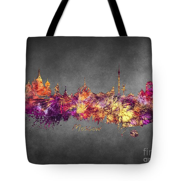 Moscow Tote Bag by Justyna JBJart