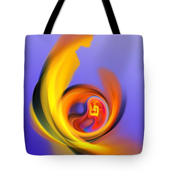 Mother And Child Tote Bag by David Lane