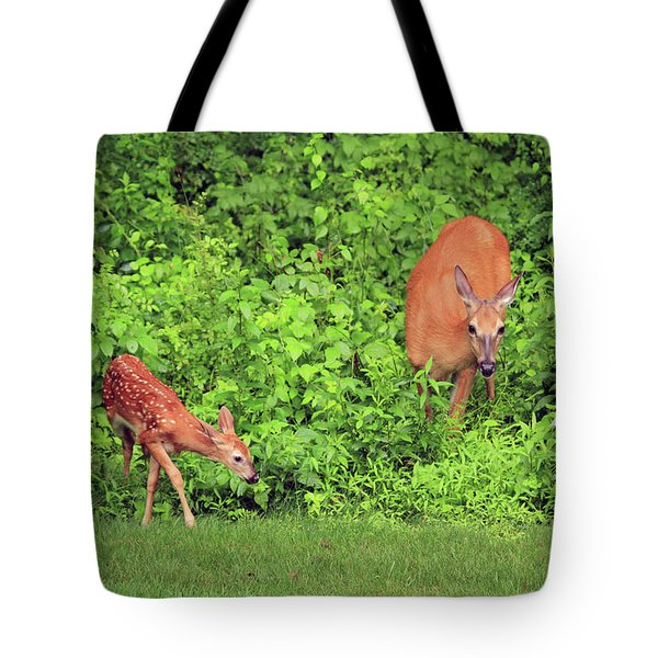 Mother And Child Tote Bag by Karol Livote