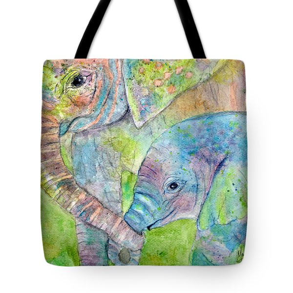 Mother And Child Tote Bag by Marie Stone Van Vuuren