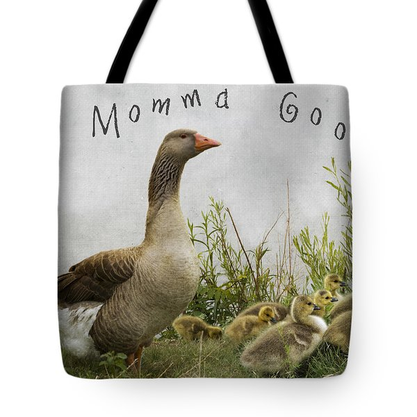 Mother Goose Tote Bag by Juli Scalzi