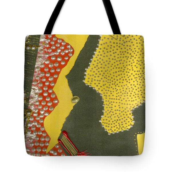 Mother Of Pearls Tote Bag by Angela L Walker