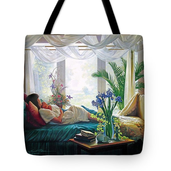 Mother's Love Tote Bag by Greg Olsen