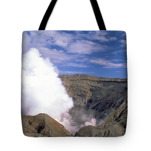 Tote Bag featuring the photograph Mount Aso by Travel Pics