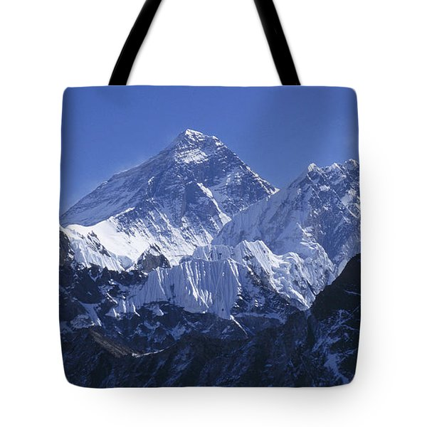 Mount Everest Nepal Tote Bag by Rudi Prott