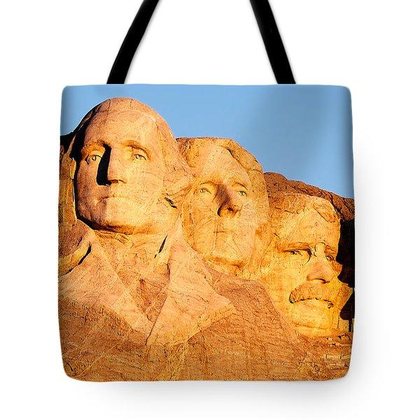 Mount Rushmore Tote Bag by Todd Klassy