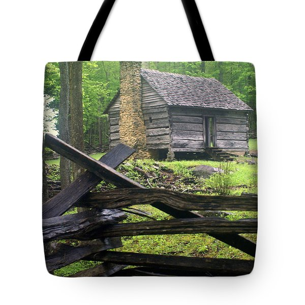 Mountain Homestead Tote Bag by Marty Koch