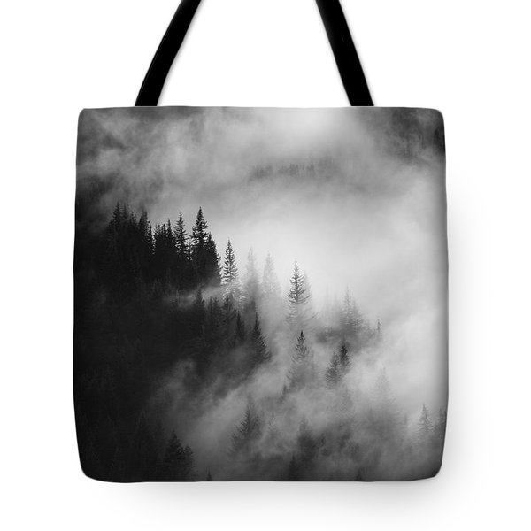 Mountain Whispers Tote Bag by Mike  Dawson
