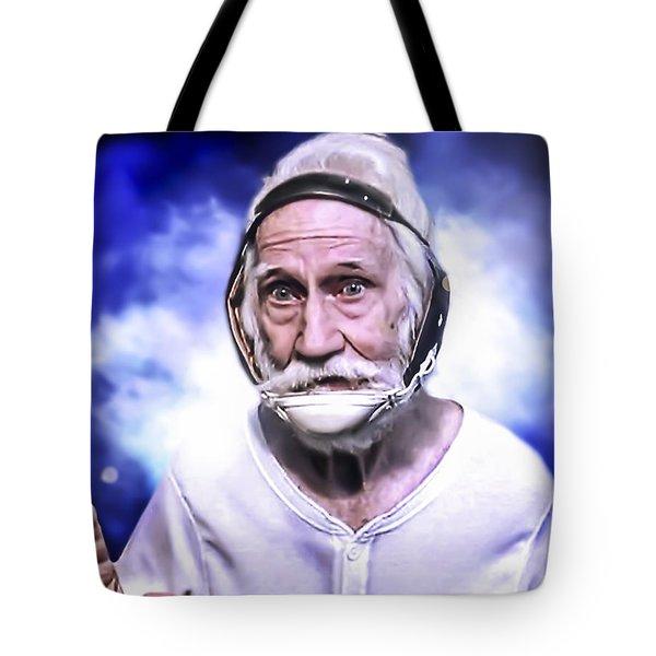 Mr. Joseph Blue Pulaski Tote Bag by Nicholas  Grunas