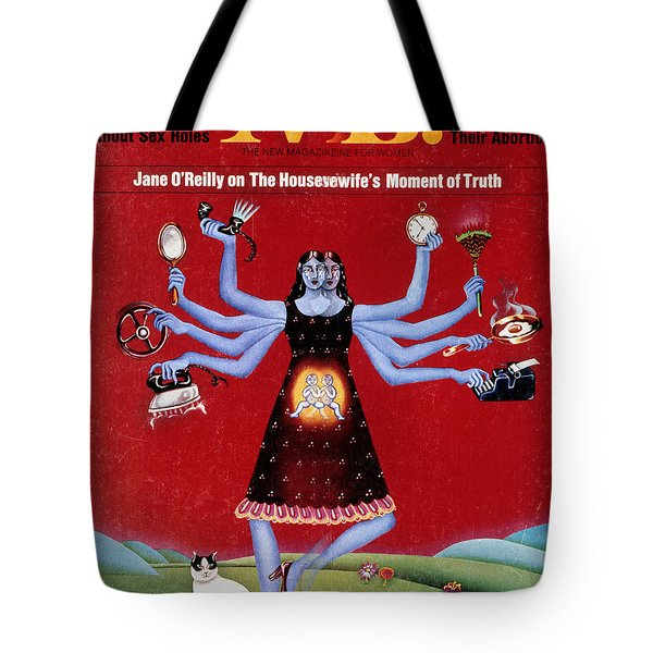 Ms. Magazine, 1972 Tote Bag by Granger