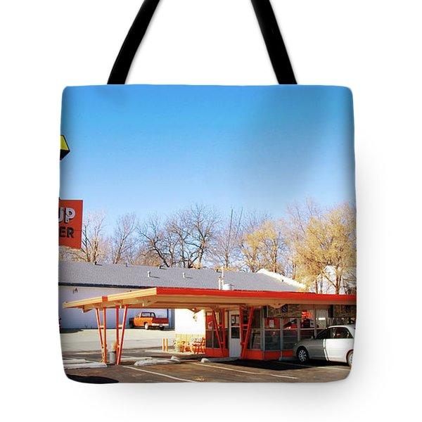 Mugs Up Root Beer Tote Bag by Andee Design