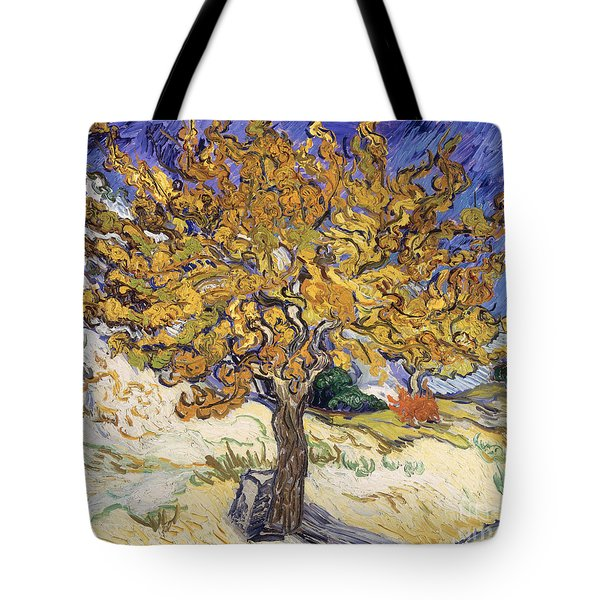 Mulberry Tree Tote Bag by Vincent Van Gogh