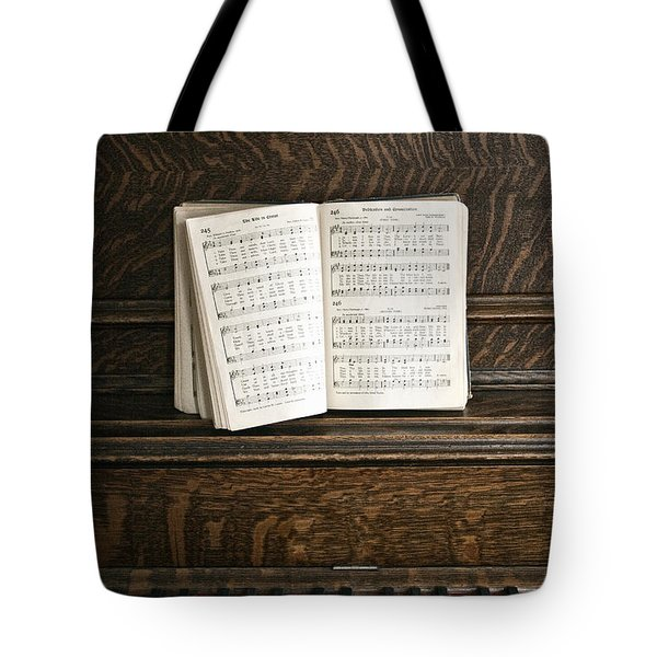 Music Tote Bag by Margie Hurwich
