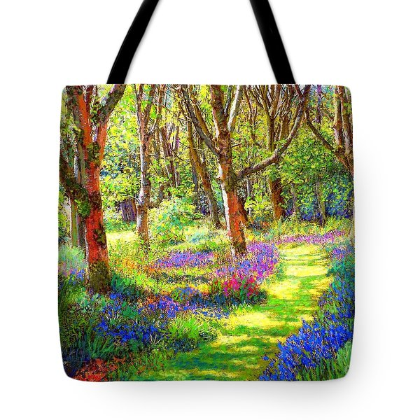 Music of Light Tote Bag by Jane Small