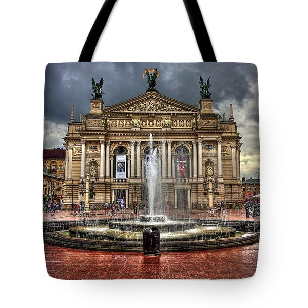 Music of My Heart Tote Bag by Evelina Kremsdorf