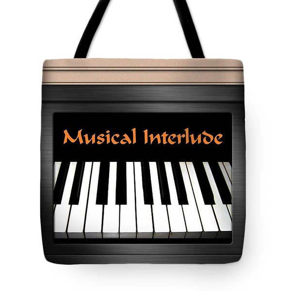 Musical Interlude Tote Bag by Will Borden